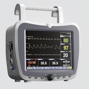 3d model patient monitor g3h