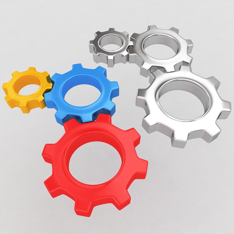 mechanical machine gears max
