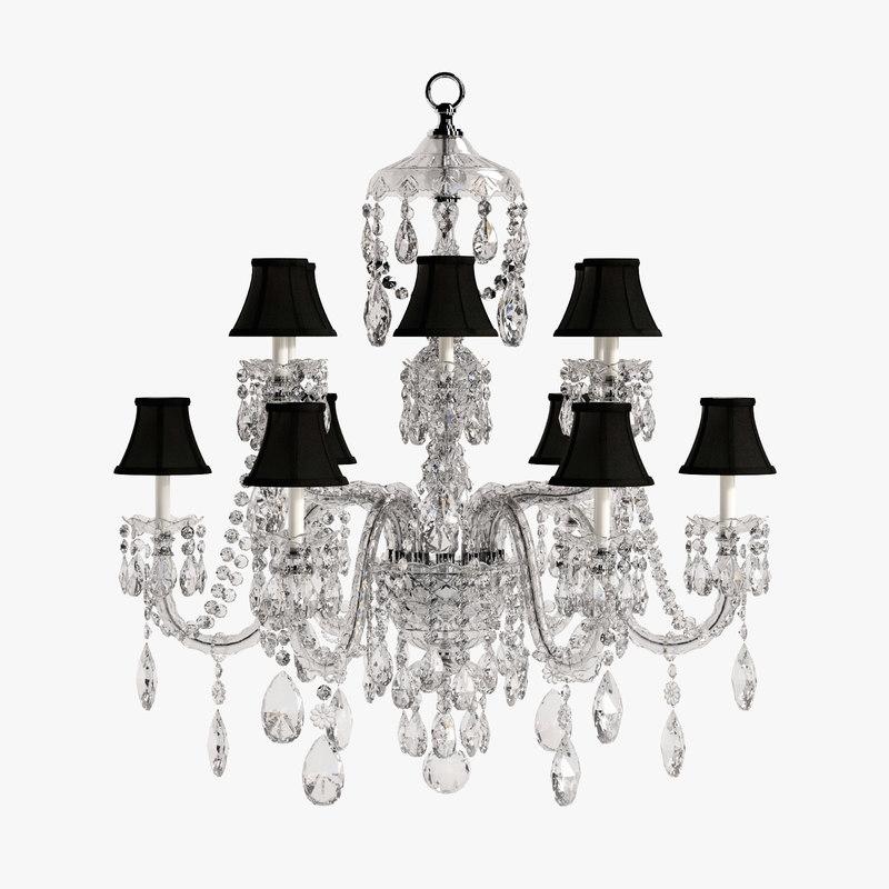 3dsmax ralph duchess large chandelier