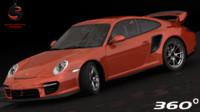 3d porsche 911 gt2 2012