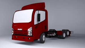 isuzu 3d model