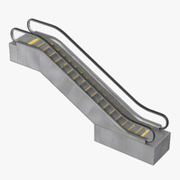 3d max escalator