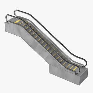 3d max escalator