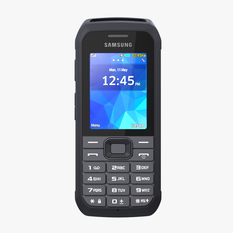 3d model samsung xcover 550