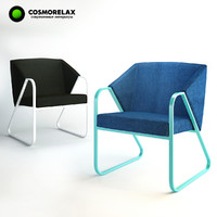 cosmorelax trigone chair 3d model