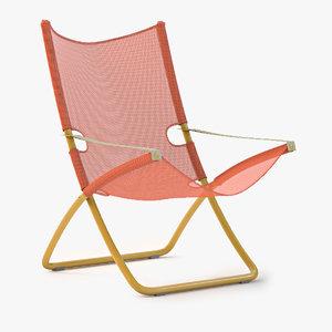 3d snooze deckchair chair