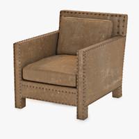 3d model d leather