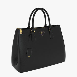 3d prada women bag model