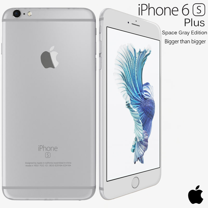 3d apple iphone 6s