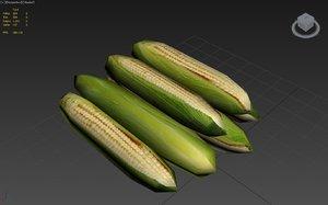 free corn 3d model
