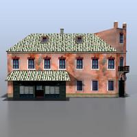 house german 3d model
