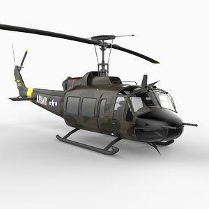 3d uh-1 heavy hog