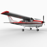 Cessna 210 - 1961 Edition with Detailed Console