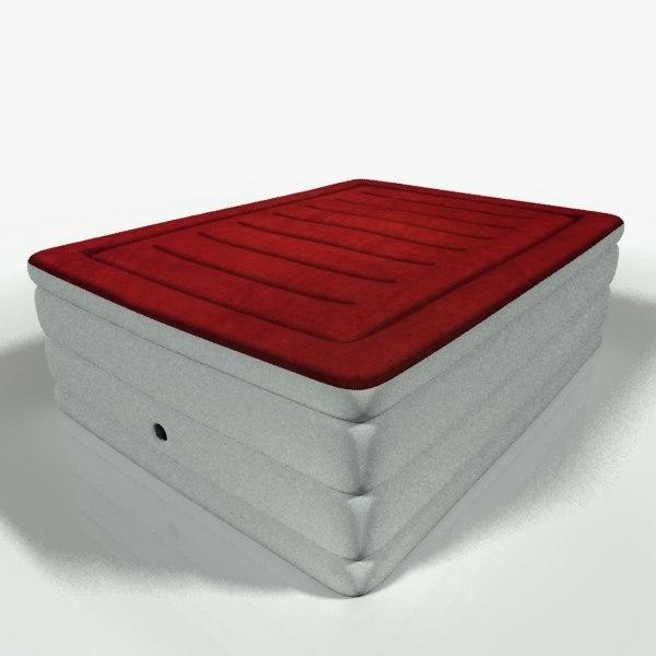 air mattress 3d model