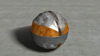 Metal Techno Sphere Ball Puzzle