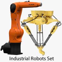 Industrial Robots Set