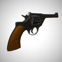 enfield revolver 3d max
