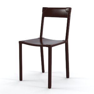 3ds max ochre sable chair