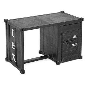 sea container desk 3d model