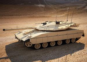 merkava mk4 battle tank max