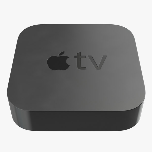 new apple tv 2015 3d c4d