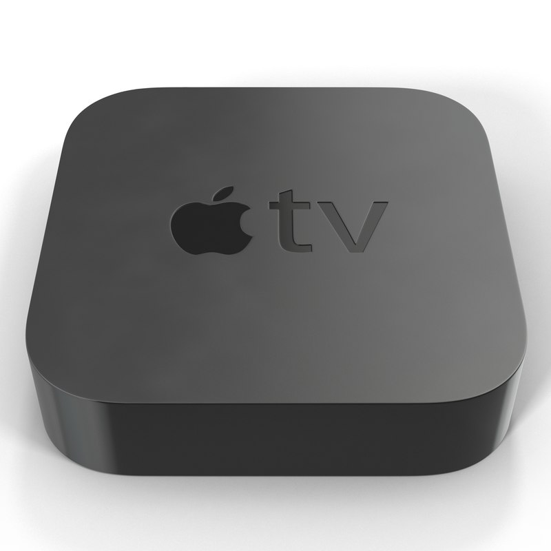 new apple tv 2015 3d c4d