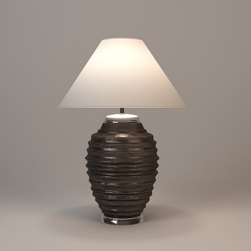 andrew martin tunstead table lamp 3d 3ds
