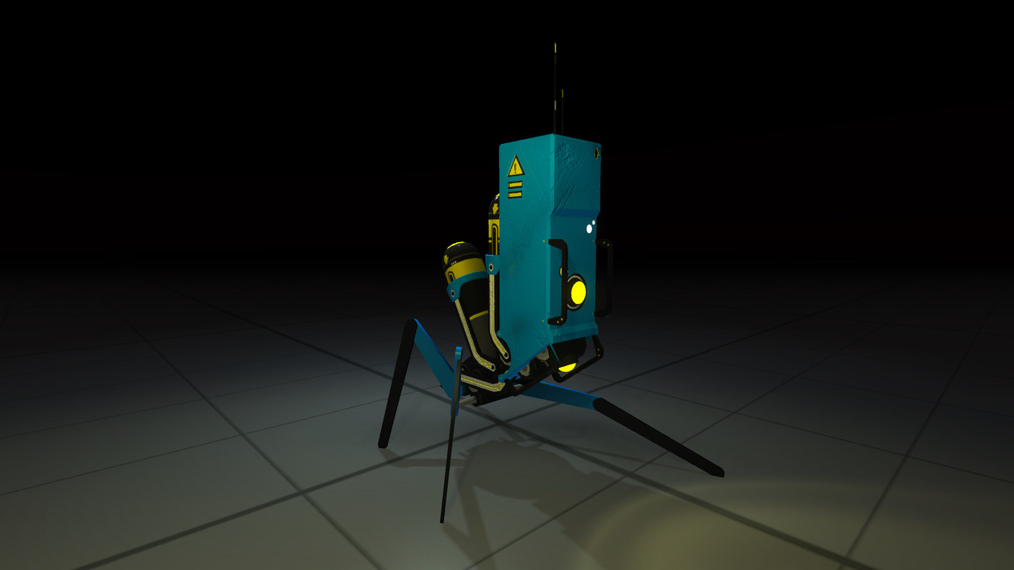 industrial robot 3d max