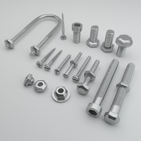 Bolts - Screws - Hexagonal - Bolt - Nails