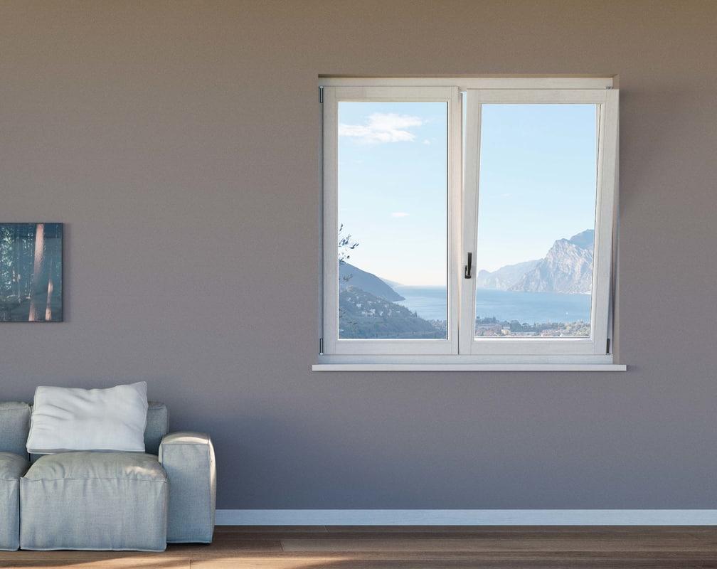 3d window interior glass
