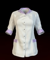 3d women s medical shirt