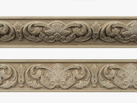 3d model moulding cnc decoration
