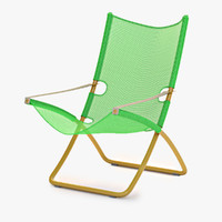 The Snooze Deckchair green