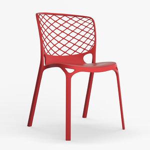 calligaris gamera chair 3d model