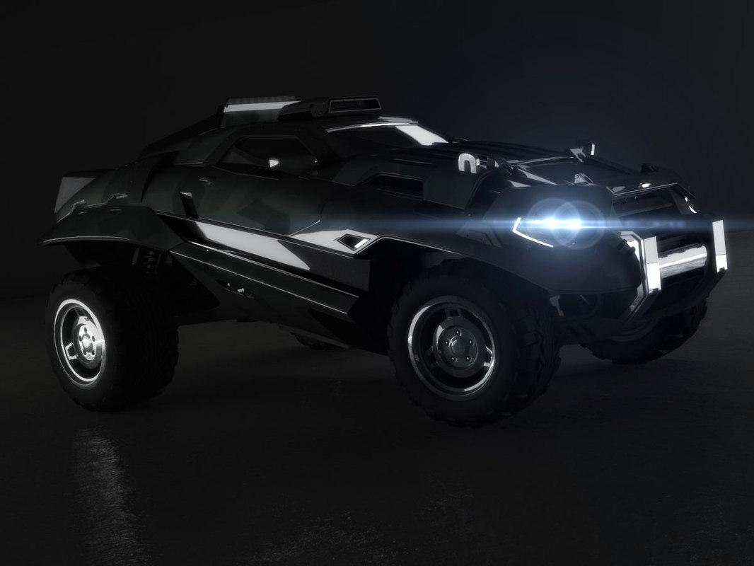 3d model sergey06 car