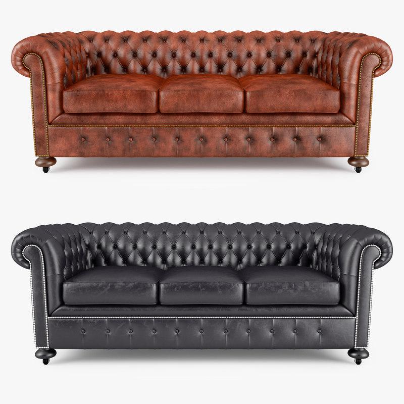 3d william blake sofa model