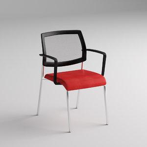 chair focus 3d 3ds