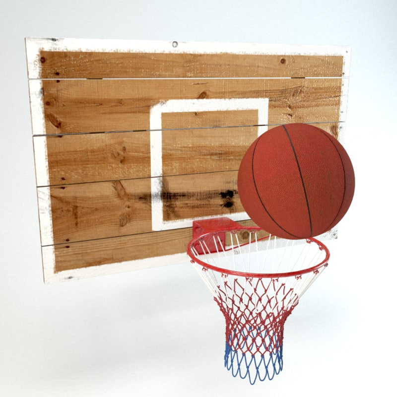 basketball hoop c4d