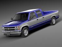 3d model 1988 1999 chevrolet