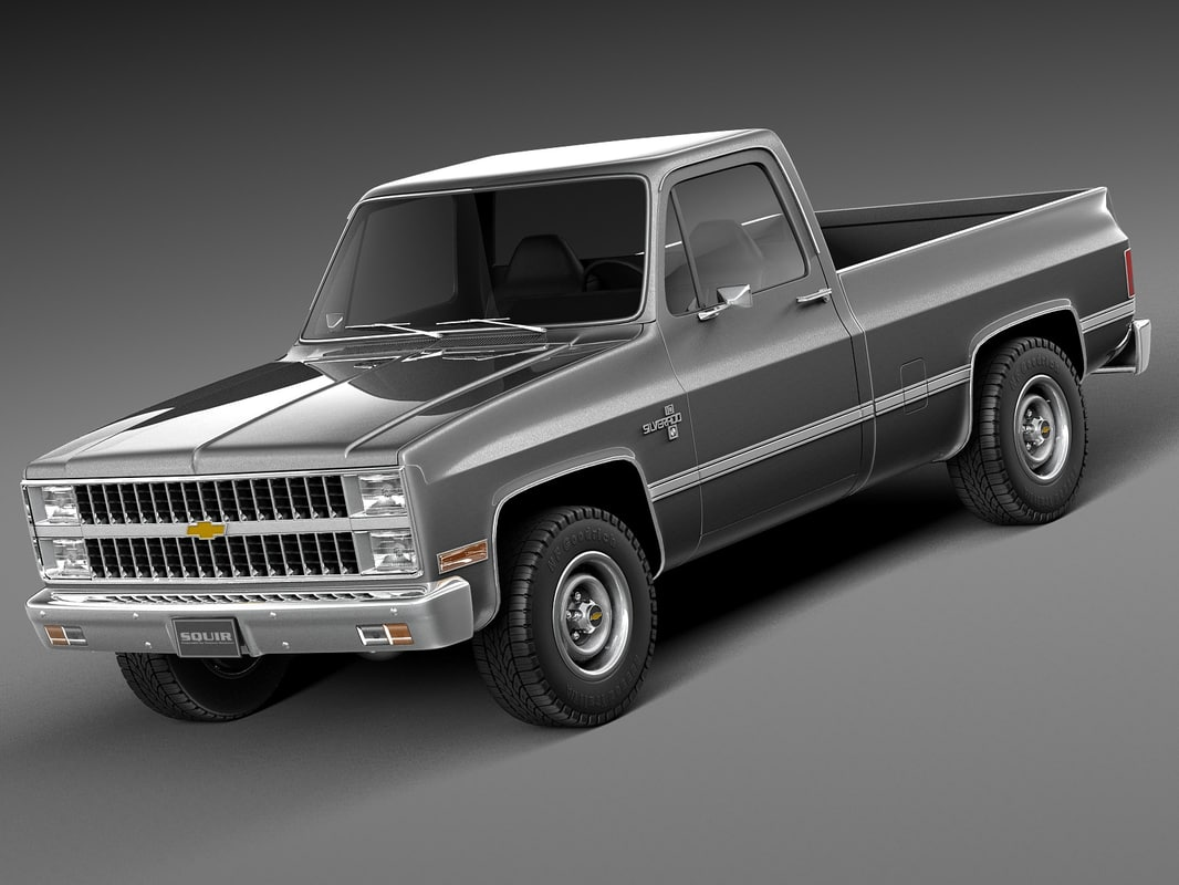 87 chevy trucks pictures