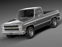 Chevrolet Silverado c10 1981-1987