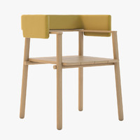 THINKK Studio Arms chair