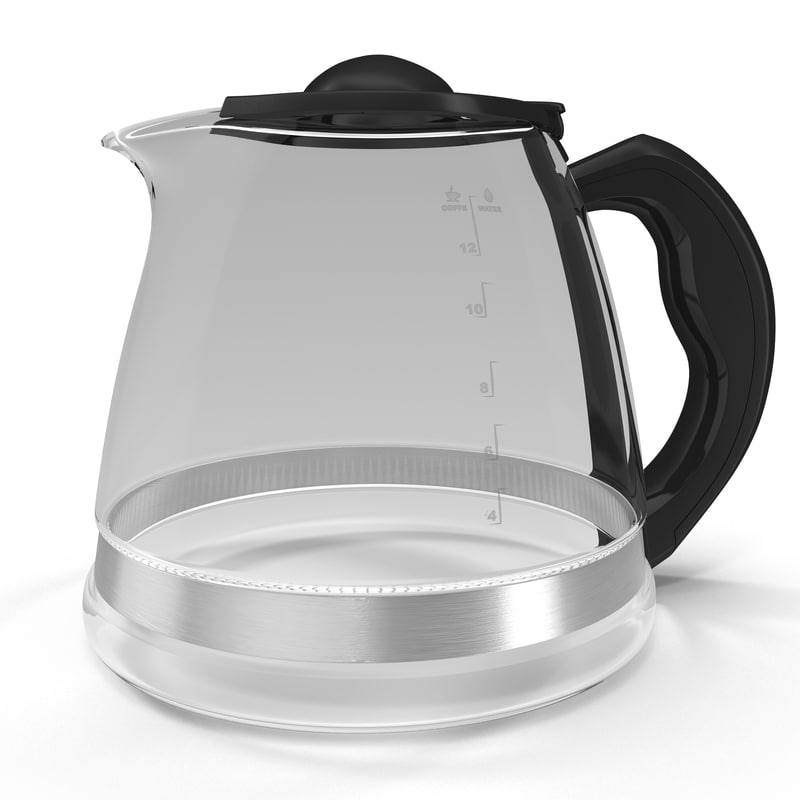 coffee carafe 3d 3ds