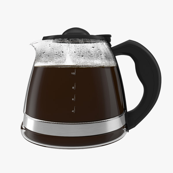coffee carafe cofee 3d 3ds