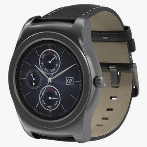 3ds max lg watch urbane 3