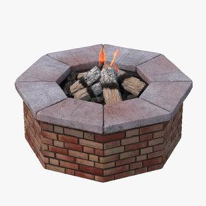 brick pit 3d model