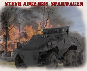 3d model adgz m35 steyr