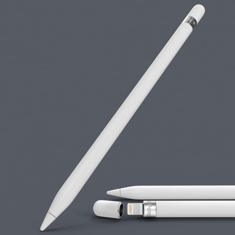 apple pencil 3d 3ds