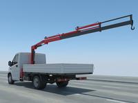 max gazelle lifting crane