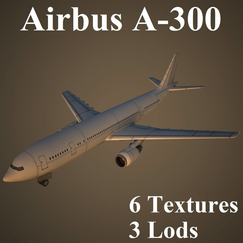 airbus a-300 airliner max
